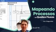 Mapeando Processos no Qualiex Fluxos
